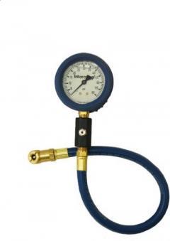 Intercomp deluxe air gauge northstar motorsports for Motor luxe tire pressure gauge 100 psi